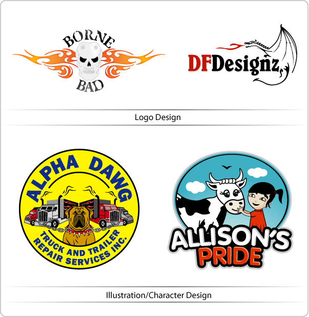 Illustration Design vs Logo Design