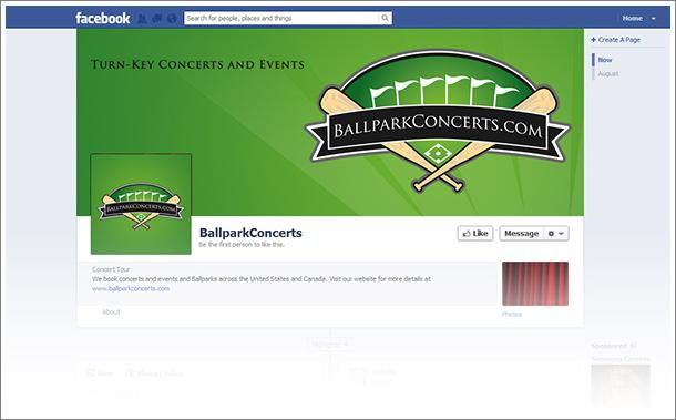 ballpark concerts facebook banner