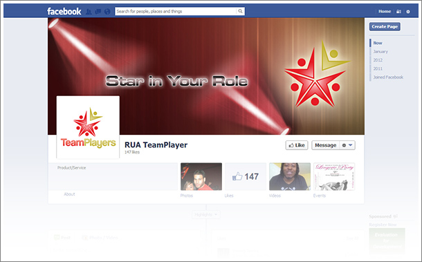 Team Players Facebook Masthead