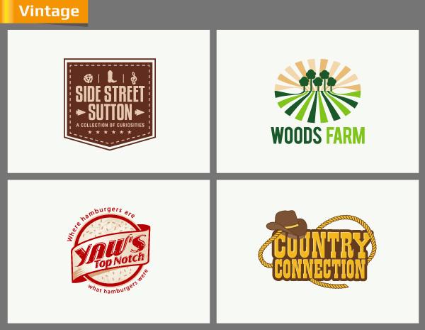 Logo Styles Rustic And Vintage Logo Design Fuelmybrand Blog