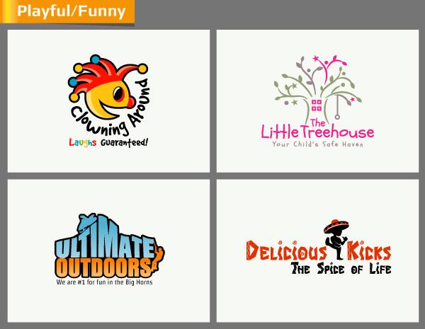 Playful yet Fun Logo Design