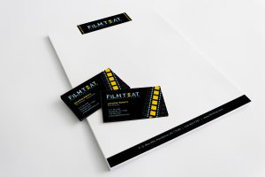 stationery design of Film That