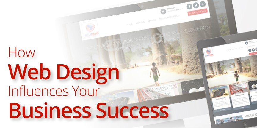 how web design influences business success