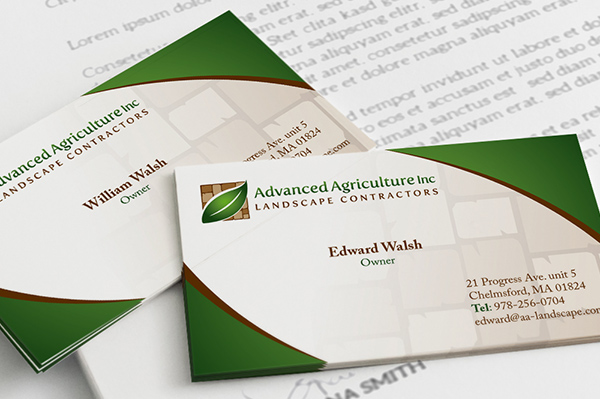 business-card-designed-for-advanced-agriculture-inc