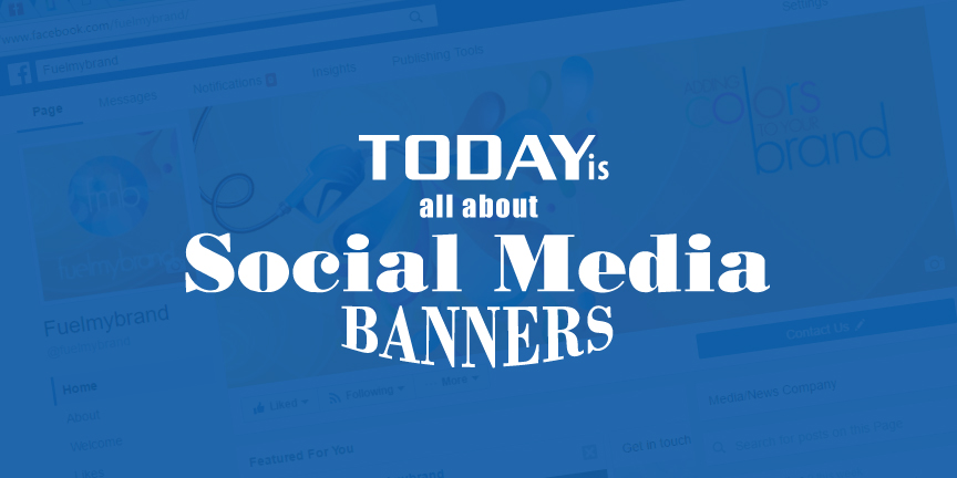social media banners for marketing