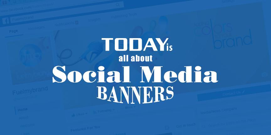 social media banners for marketing