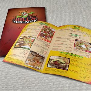 billstexmex-menu-design