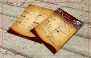 menu-card-designing
