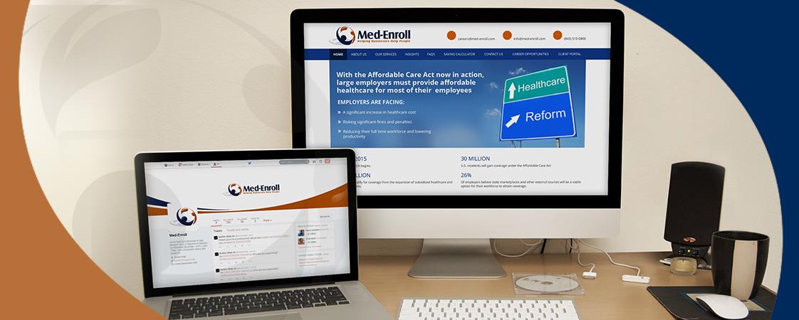 web development service for Med-Enroll