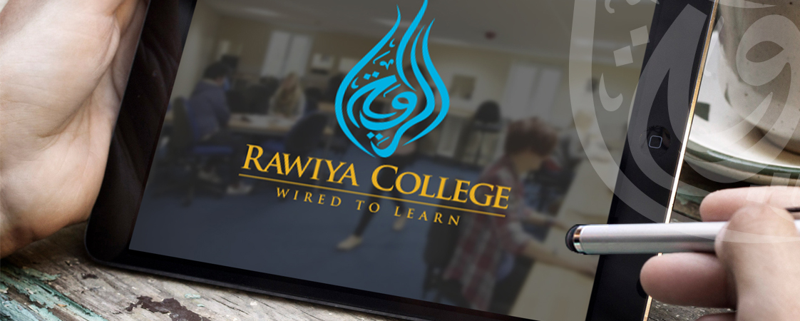 custom logo design for Rawiya College