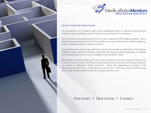 Medical Sales Mentor Website
